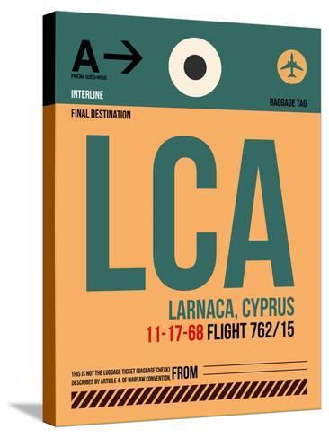LCA Cyprus Luggage Tag I-NaxArt-Stretched Canvas Print