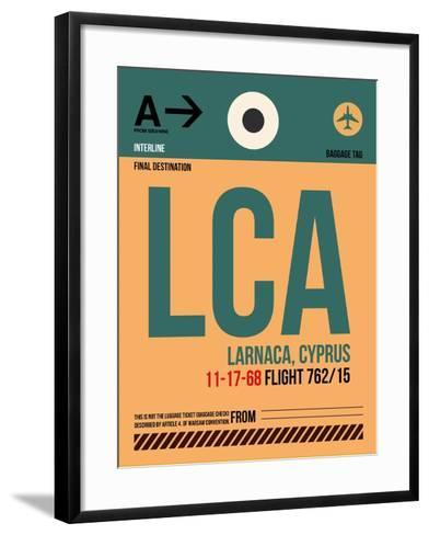 LCA Cyprus Luggage Tag I-NaxArt-Framed Art Print
