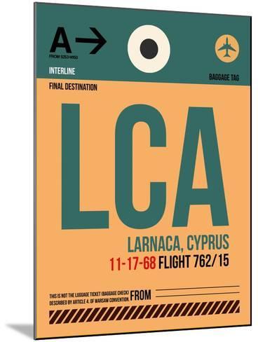 LCA Cyprus Luggage Tag I-NaxArt-Mounted Art Print