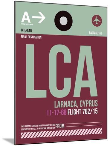 LCA Cyprus Luggage Tag II-NaxArt-Mounted Art Print