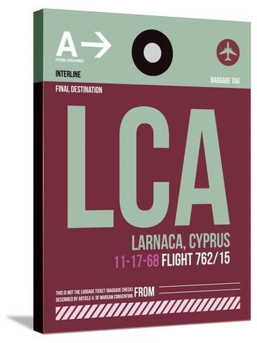 LCA Cyprus Luggage Tag II-NaxArt-Stretched Canvas Print