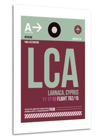 LCA Cyprus Luggage Tag II-NaxArt-Metal Print