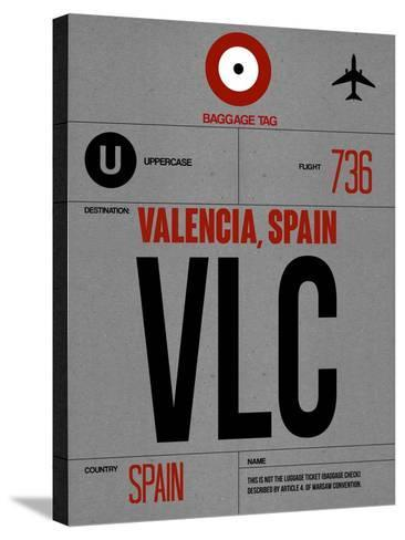 VLC Valencia Luggage Tag I-NaxArt-Stretched Canvas Print