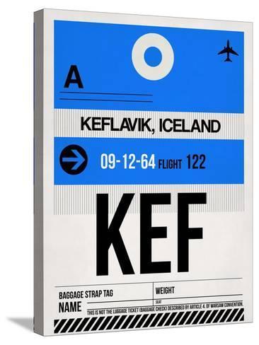 KEF Keflavik Luggage Tag I-NaxArt-Stretched Canvas Print