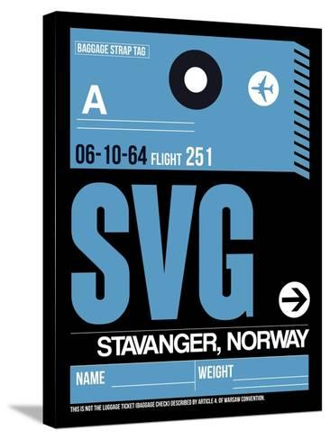SVG Stavanger Luggage Tag II-NaxArt-Stretched Canvas Print