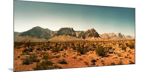 View of the Red Rock Canyon National Conservation Area, Near Las Vegas, Clark County, Nevada, USA--Mounted Premium Photographic Print