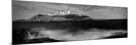 Lighthouse on the Coast, Nubble Lighthouse, York, York County, Maine, USA--Mounted Photographic Print