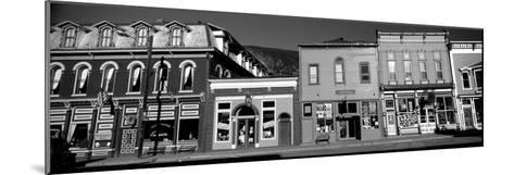 Buildings in a Town, Old Mining Town, Silverton, San Juan County, Colorado, USA--Mounted Photographic Print