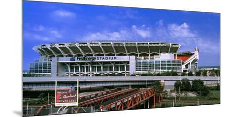 Football Stadium in a City, Firstenergy Stadium, Cleveland, Ohio, USA--Mounted Photographic Print