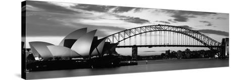 Sydney Harbour Bridge at Sunset, Sydney, Australia--Stretched Canvas Print
