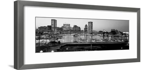 Inner Harbor, Baltimore, Maryland, USA--Framed Art Print