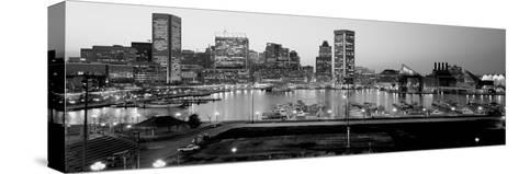 Inner Harbor, Baltimore, Maryland, USA--Stretched Canvas Print