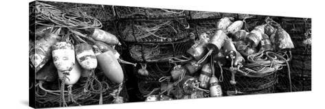 Close-Up of Crab Pots, Humboldt County, California, USA--Stretched Canvas Print