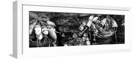 Close-Up of Crab Pots, Humboldt County, California, USA--Framed Art Print