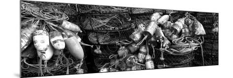 Close-Up of Crab Pots, Humboldt County, California, USA--Mounted Photographic Print