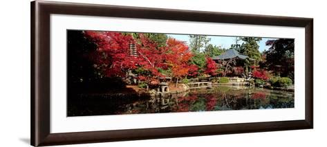 Seiryo-Ji Temple in Autumn, Ukyo-Ku, Kyoto City, Kyoto Prefecture, Japan--Framed Art Print