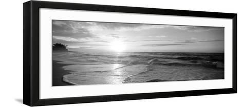 Sunset over the Sea--Framed Art Print