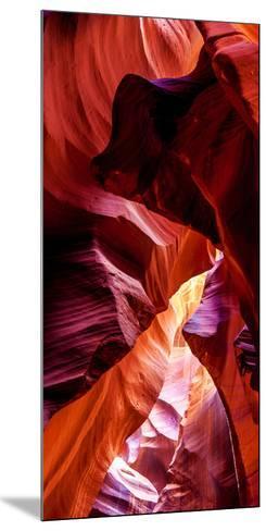 Upper Antelope Canyon Rock Formations, Page, Arizona, USA--Mounted Photographic Print