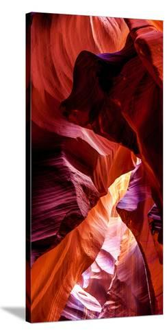 Upper Antelope Canyon Rock Formations, Page, Arizona, USA--Stretched Canvas Print
