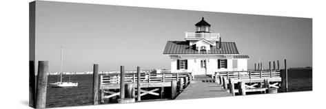 Roanoke Marshes Lighthouse, Outer Banks, North Carolina, USA--Stretched Canvas Print