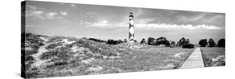 Cape Lookout Lighthouse, Outer Banks, North Carolina, USA--Stretched Canvas Print