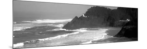 Lighthouse on a Hill, Heceta Head Lighthouse, Heceta Head, Lane County, Oregon, USA--Mounted Photographic Print