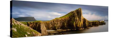 View of Neist Point Peninsula, Isle of Skye, Scotland--Stretched Canvas Print