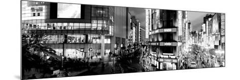 Buildings Lit Up at Night, Shinjuku Ward, Tokyo Prefecture, Kanto Region, Japan--Mounted Photographic Print