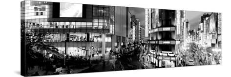 Buildings Lit Up at Night, Shinjuku Ward, Tokyo Prefecture, Kanto Region, Japan--Stretched Canvas Print