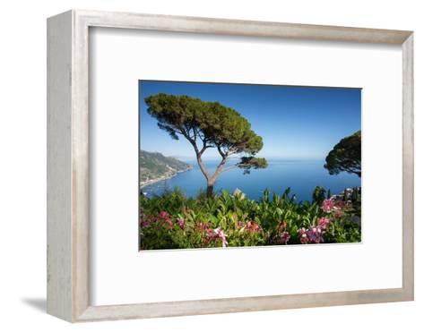 Villa Rufolo, Ravello, Costiera Amalfitana (Amalfi Coast), UNESCO World Heritage Site, Campania-Frank Fell-Framed Art Print