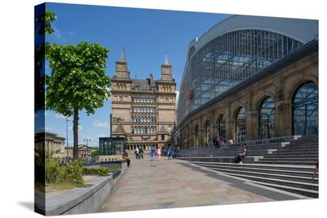 Liverpool Lime Street Railway Station, Liverpool, Merseyside, England, United Kingdom, Europe-Frank Fell-Stretched Canvas Print