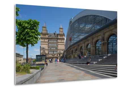 Liverpool Lime Street Railway Station, Liverpool, Merseyside, England, United Kingdom, Europe-Frank Fell-Metal Print