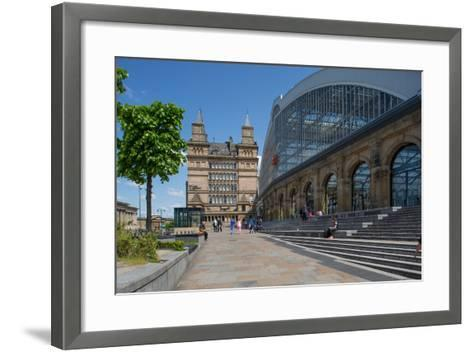 Liverpool Lime Street Railway Station, Liverpool, Merseyside, England, United Kingdom, Europe-Frank Fell-Framed Art Print