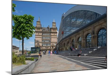 Liverpool Lime Street Railway Station, Liverpool, Merseyside, England, United Kingdom, Europe-Frank Fell-Mounted Photographic Print