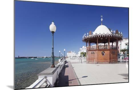 Pavilion on the Promenade La Marina, Arrecife, Lanzarote, Canary Islands, Spain, Atlantic, Europe-Markus Lange-Mounted Photographic Print