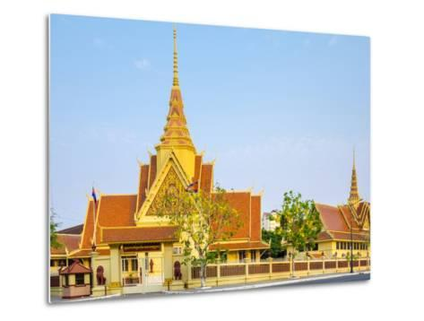 Cambodian Supreme Court, Phnom Penh, Cambodia, Indochina, Southeast Asia, Asia-Jason Langley-Metal Print