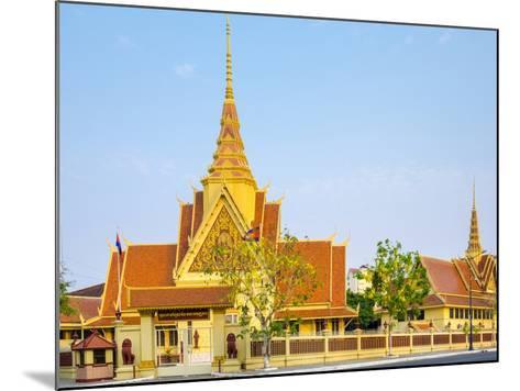Cambodian Supreme Court, Phnom Penh, Cambodia, Indochina, Southeast Asia, Asia-Jason Langley-Mounted Photographic Print