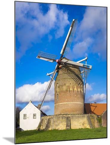 Tower Mill of Gronsveld (Torenmolen Van Gronsfeld) Windmill, Vroendaal, Maastricht-Jason Langley-Mounted Photographic Print