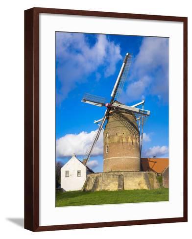Tower Mill of Gronsveld (Torenmolen Van Gronsfeld) Windmill, Vroendaal, Maastricht-Jason Langley-Framed Art Print