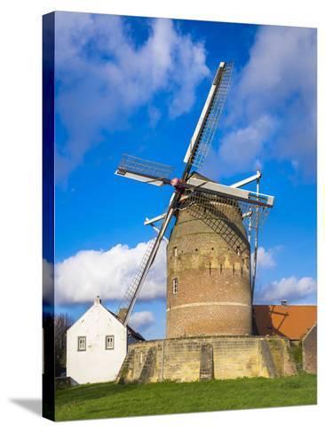 Tower Mill of Gronsveld (Torenmolen Van Gronsfeld) Windmill, Vroendaal, Maastricht-Jason Langley-Stretched Canvas Print