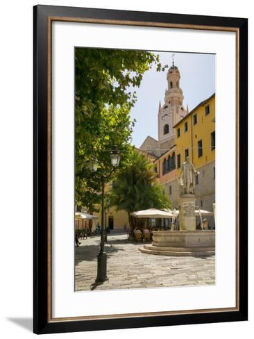 Concattedrale Di San Siro, Sanremo (San Remo), Liguria, Italy, Europe-Frank Fell-Framed Art Print