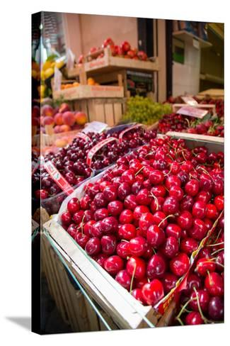 Fruit Stall on Via C Cesario, Sorrento, Campania, Italy, Europe-Frank Fell-Stretched Canvas Print