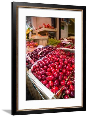 Fruit Stall on Via C Cesario, Sorrento, Campania, Italy, Europe-Frank Fell-Framed Art Print