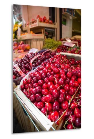 Fruit Stall on Via C Cesario, Sorrento, Campania, Italy, Europe-Frank Fell-Metal Print