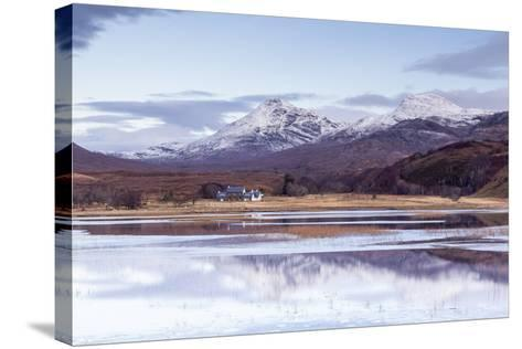 Loch Coultrie in Wester Ross, Highlands, Scotland, United Kingdom, Europe-Julian Elliott-Stretched Canvas Print