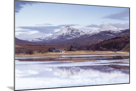 Loch Coultrie in Wester Ross, Highlands, Scotland, United Kingdom, Europe-Julian Elliott-Mounted Photographic Print