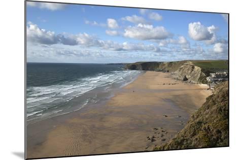 Watergate Bay, Newquay, Cornwall, England, United Kingdom, Europe-Stuart Black-Mounted Photographic Print