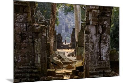 Temple of Prasat Thom (Prasat Kompeng), Dated 9th to 12th Century, Temple Complex of Koh Ker-Nathalie Cuvelier-Mounted Photographic Print