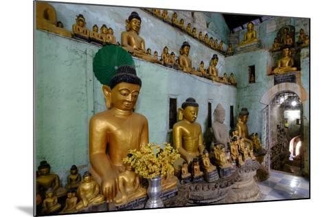Pagoda of Shittaung, Dated 1535, Mrauk U, Rakhaing State, Myanmar (Burma), Asia-Nathalie Cuvelier-Mounted Photographic Print