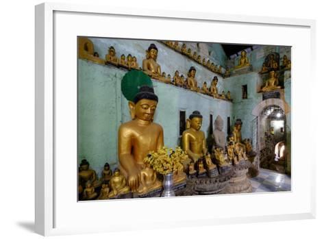 Pagoda of Shittaung, Dated 1535, Mrauk U, Rakhaing State, Myanmar (Burma), Asia-Nathalie Cuvelier-Framed Art Print